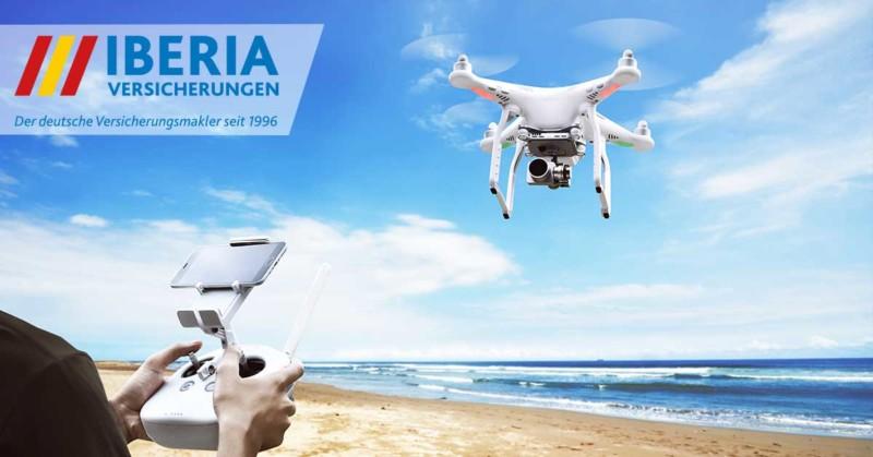 Drohne am Meer